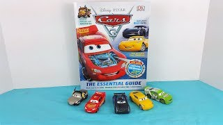 Lightning McQueen, Cruz Ramirez, Jackson Storm Cars 3 Read Along with Me The Collectors Guide Book