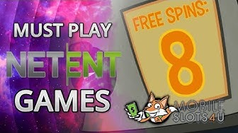 The 5 Best NetEnt Slot Games Ever Made - Play These NetEnt Slots Right Now!