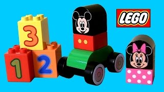 LEGO Duplo Mickey Mouse & Friends Disney Junior Channel 10531 Minnie, Pluto, Donald Duck, Goofy