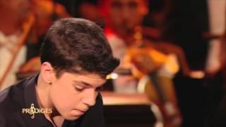 "Ilan 13 ans, pianiste, joue ""Concerto n°1"" de Tchaïkovsky..."