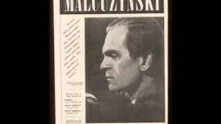 Witold Malcuzynski plays Chopin Waltz in E flat Op. 18