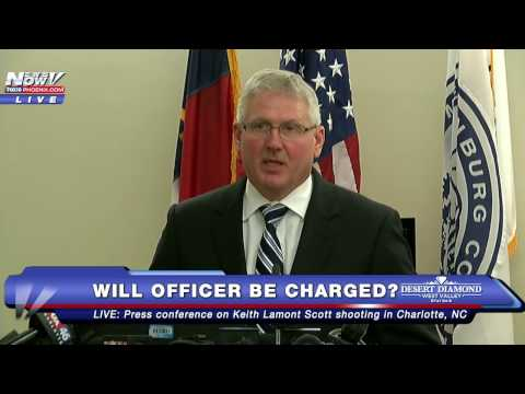 FNN: BREAKING - Charlotte Cop Faces NO CHARGES in Keith Lamont Scott Shooting - FULL NEWS CONFERENCE
