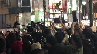 2019年4月17日 新宿ロフト 石野卓球 DJ Open to Last 終了後、報道陣に...