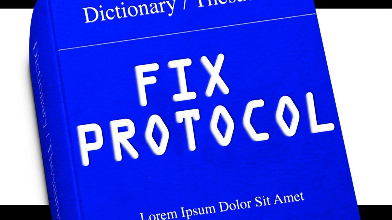 FIX Protocol: BEST FIX Dictionaries for online FIX Specification ...