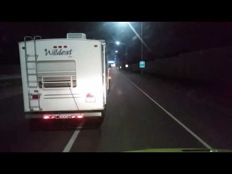 Heavy Duty Towing and Recovery inc. AAA RV tow. Part 2