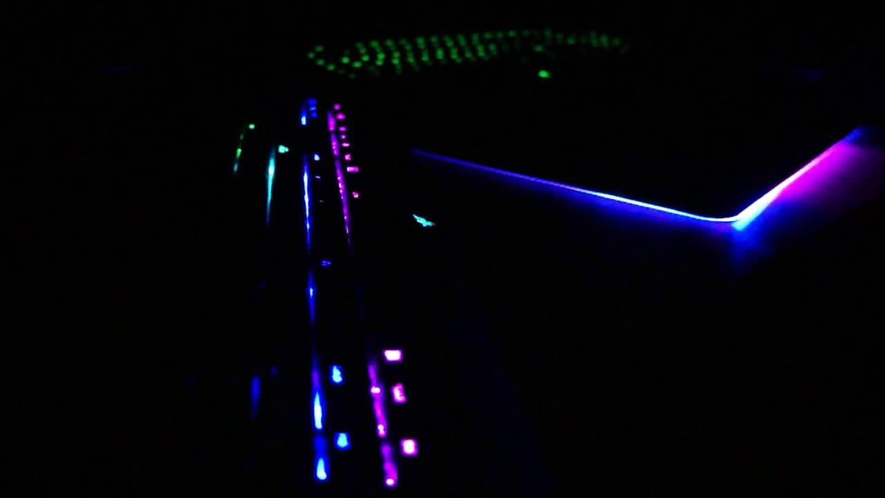 razer blackwidow chroma and firefly audio visualizer syn cole