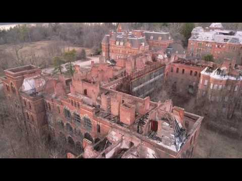 Hudson River State Hospital - A Drone Exploration