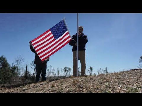 'A Symbol Of Hope': Vet Replaces Damaged American Flags After Alabama Tornadoes