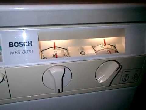 инструкция Bosch Wfm 3030 - фото 8