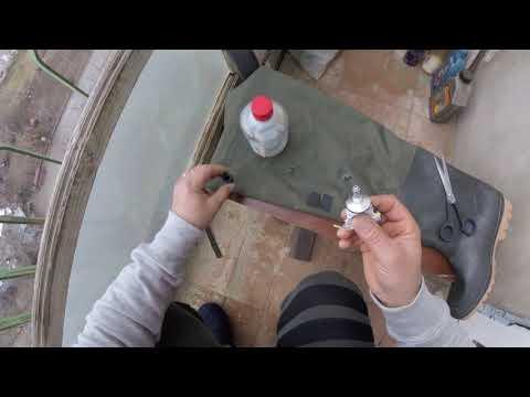 Ремонт рыбацких сапог, просто и надёжно.Как заклеить резиновый сапог