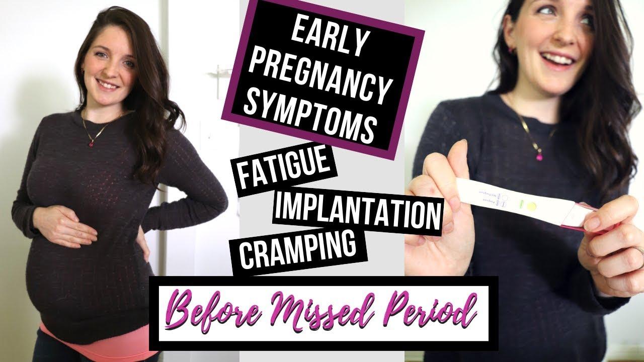 MY EARLY PREGNANCY SYMPTOMS/ TTC 2018 / BEFORE BFP!
