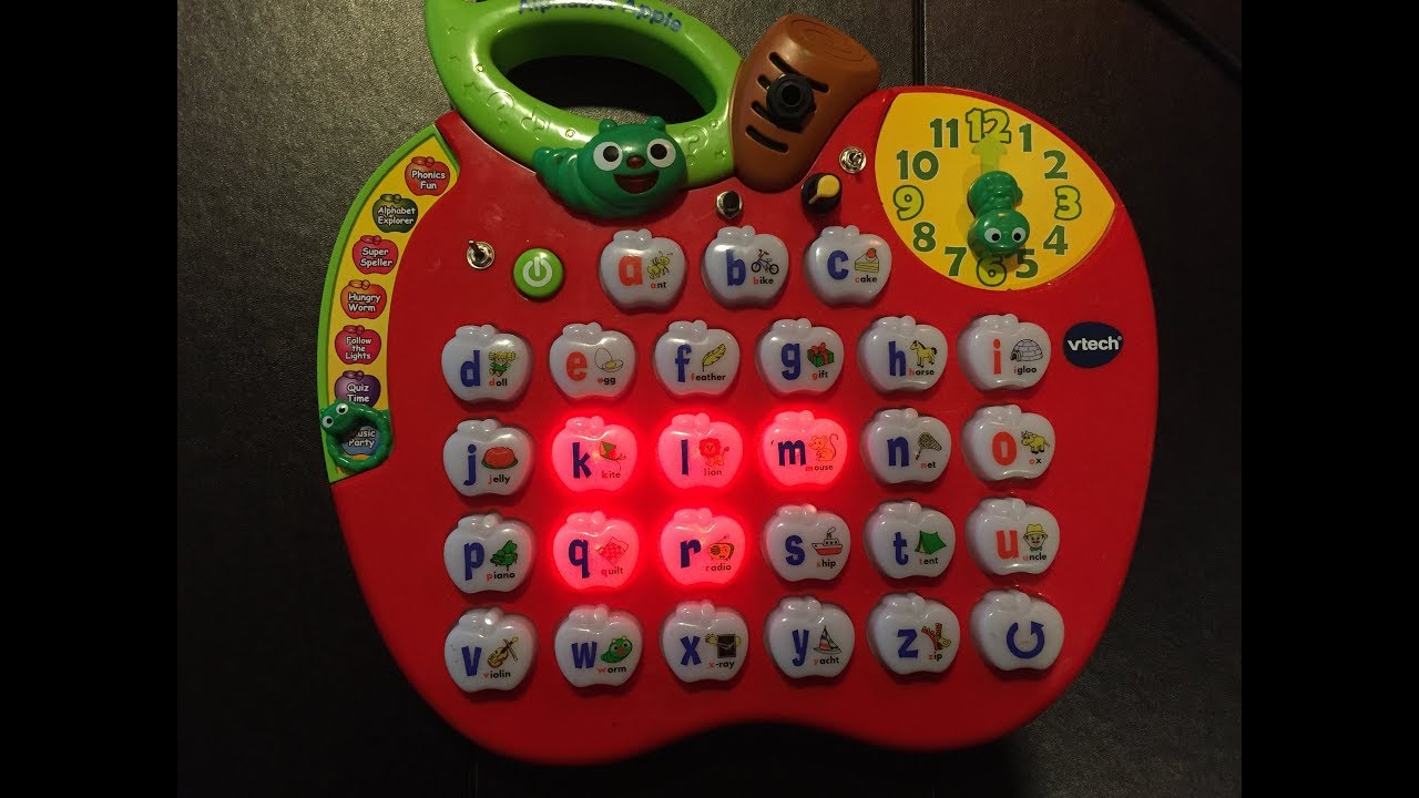 Circuit Bent Vtech Alphabet Apple By Psychiceyeclix Youtube Wrongbot Elmo39s World