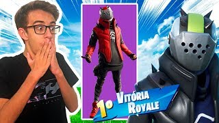 MITEI COM A *NOVA* SKINS LORD X FORTNITE BATTLE ROYALE - RICK SANTINA