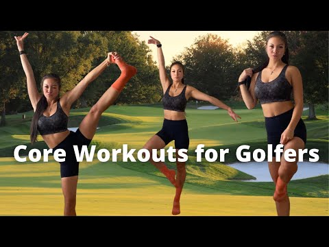 Golf Core Exercises to Hit it Farther