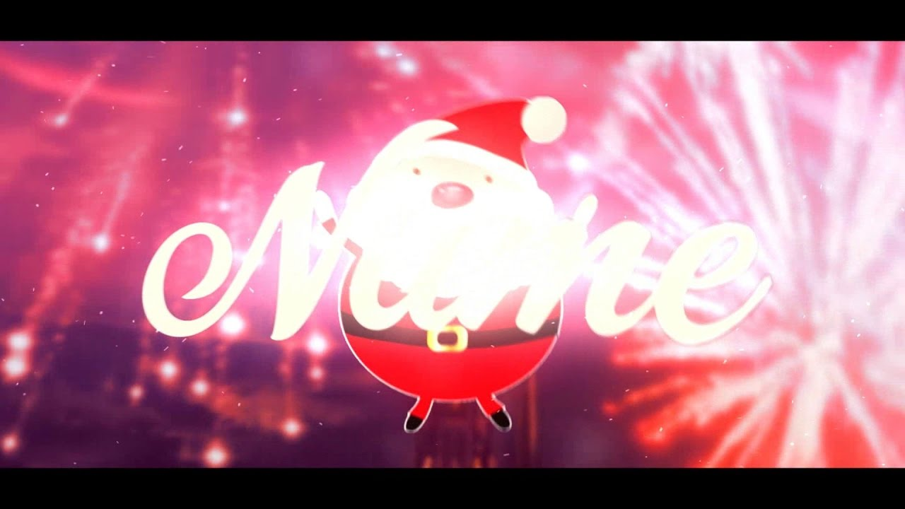 sony vegas pro 14 - christmas intro template - youtube, Powerpoint templates