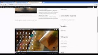 Como insertar videos en wordpress 2015