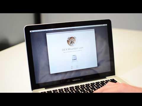 How to Reinstall Apple OS X Mountain Lion
