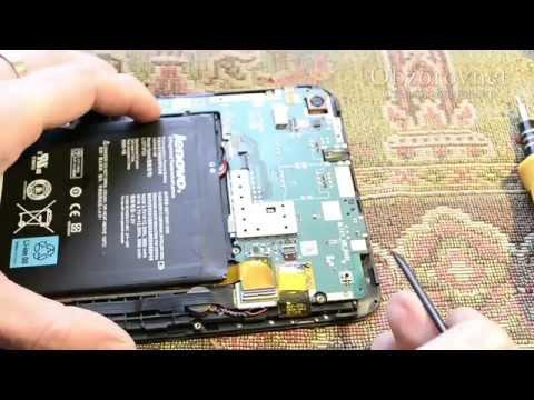 Планшет Lenovo не включается не заряжается