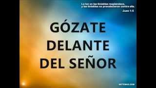 GOZATE DELANTE DEL SEÑOR Y HARE UN ALTAR thumbnail