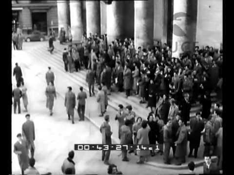The Trieste Events (November 5-6, 1953) - Shot by cameramen of the Incom Italian Newsreel.