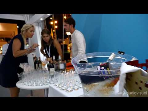 Yachting Festival Cannes 2016. Exhibition equipment and peop