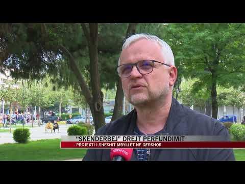 """Sheshi """"Skënderbej"""" drejt përfundimit - News, Lajme - Vizion Plus"""