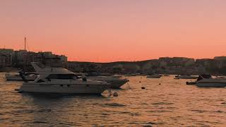 Summer Evening In Malta Mediterranean See Most Beautiful Island