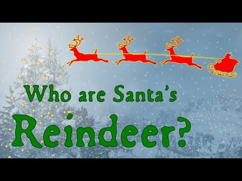 Who Are Santa's Reindeer?