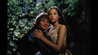 Romeo & Juliet  (behind the scenes Olivia Hussey and Leonard Whiting )