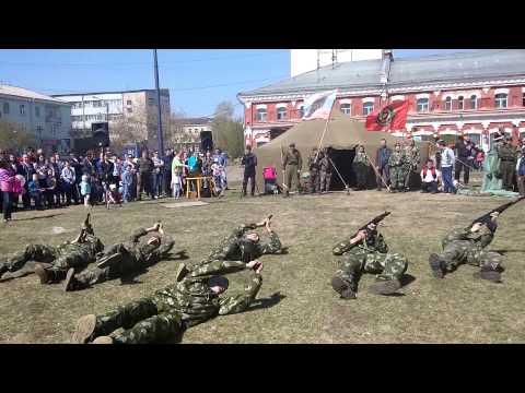 """Показательные выступления ВПК """"Виктория"""" г.Канск"""