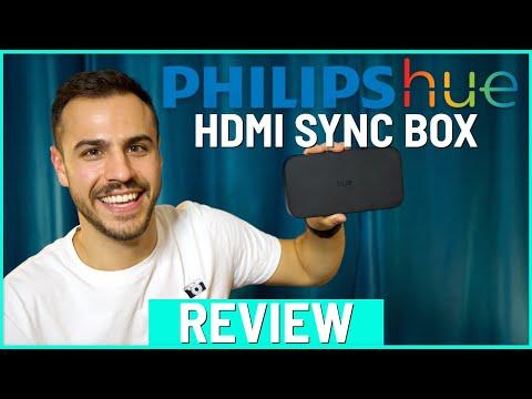 Review: Philips Hue Play HDMI Sync Box - Setup and Demo