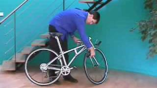 Prototype IF-Urban700c Full-sized folding bike