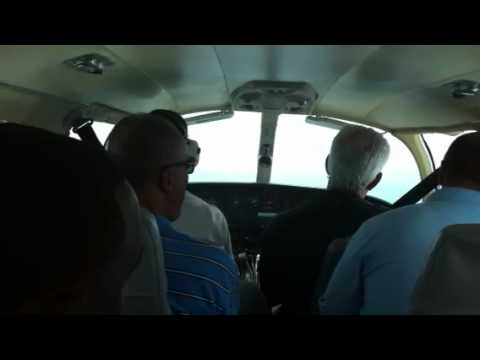 Landing at Anguilla airport