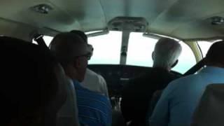 Landing at Anguilla airport