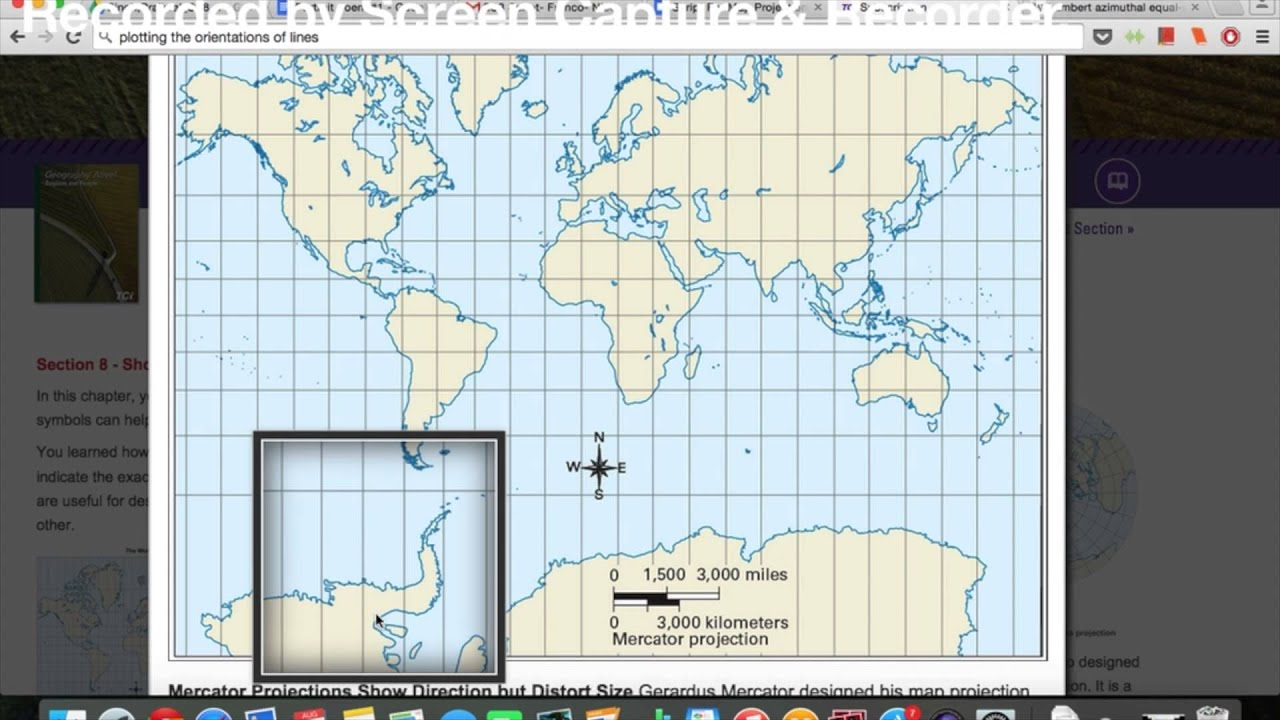 Map projections and distortion youtube map projections and distortion gumiabroncs Images