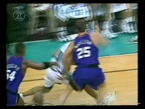 Grant Hill puts the defender in the spin cycle and serves up a poster