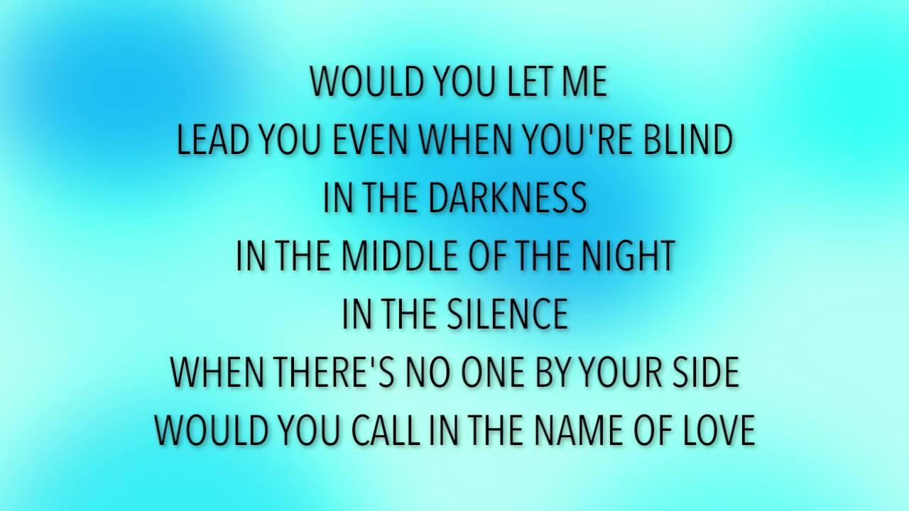 Martin Garrix & Bebe Rexha - In The Name Of Love (Lyrics