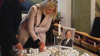 Outpouring of tributes continues for slain British MP David Amess.