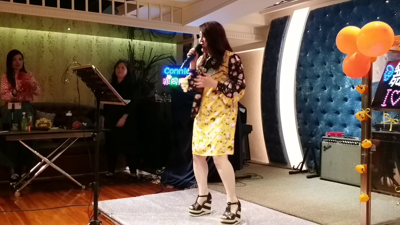 Connie 擁抱你離去 4-11-2018 - YouTube