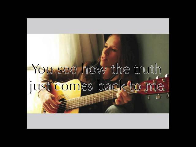 Rock Bottom- Kristin Turo (Lyric Video)