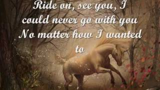 Cruachan - Ride on (lyrics)