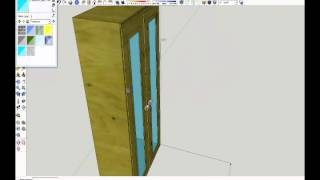 Furniture Design In Google Sketchup 8 Tutorial By Rahgsa0509