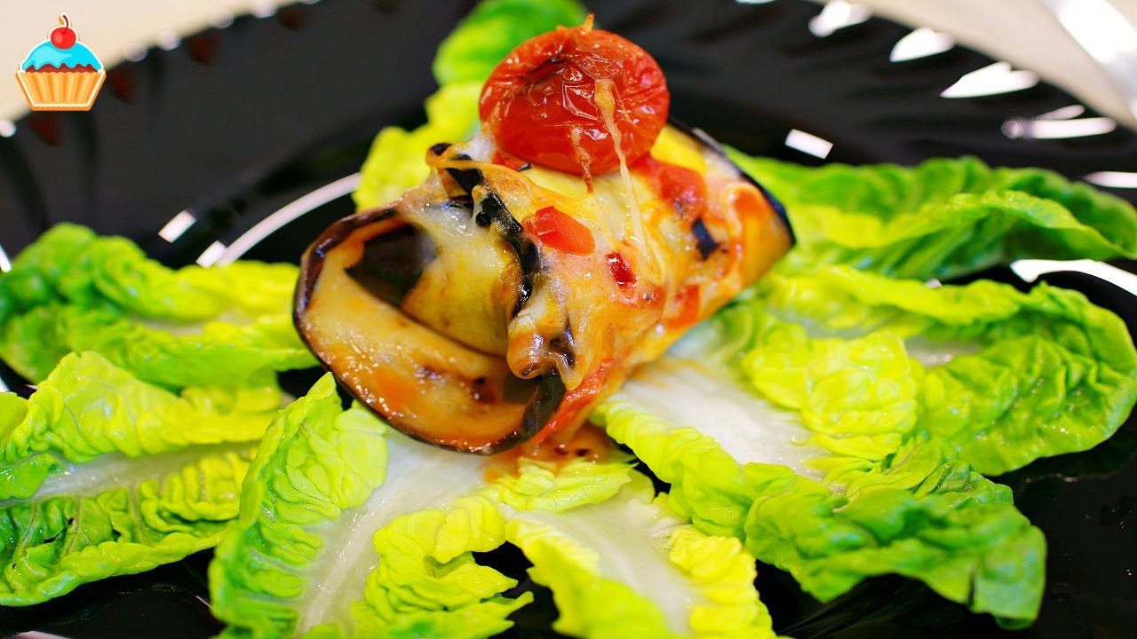 Тефтели в баклажанах / Noisettes in eggplants.