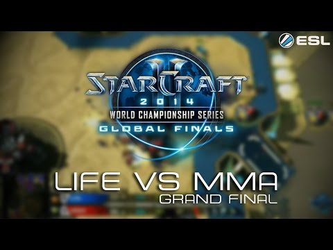 Life vs MMA (BO7) - Wielki finał. WCS Global Finals - BlizzCon 2014