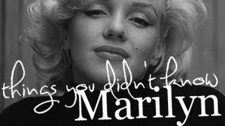 fourtysix things you didn't know about Marilyn Monroe
