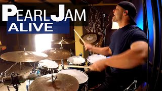 Pearl Jam - Alive Drum Cover (High Quality Audio) ⚫⚫⚫