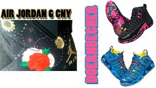 AIR JORDAN 6 CHINESE NEW YEAR FIRST LOOK, DOERNBECHER INFO, NIKE SB DUNK LOW PIGEON BLACK AND MORE