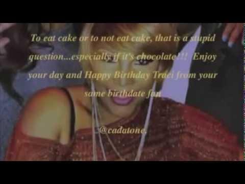 Traci Braxton 2013 Birthday video from #teamBraxton