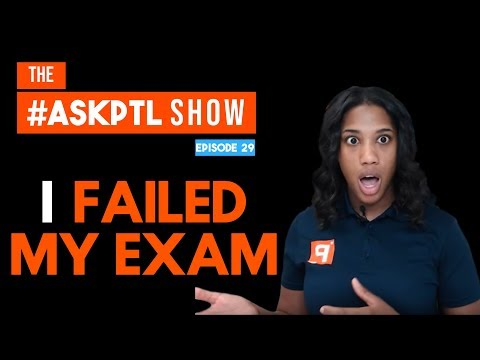 I Failed, Do I Have to Retake the Whole Pharmacy Technician Exam? | #AskPTL Episode 29