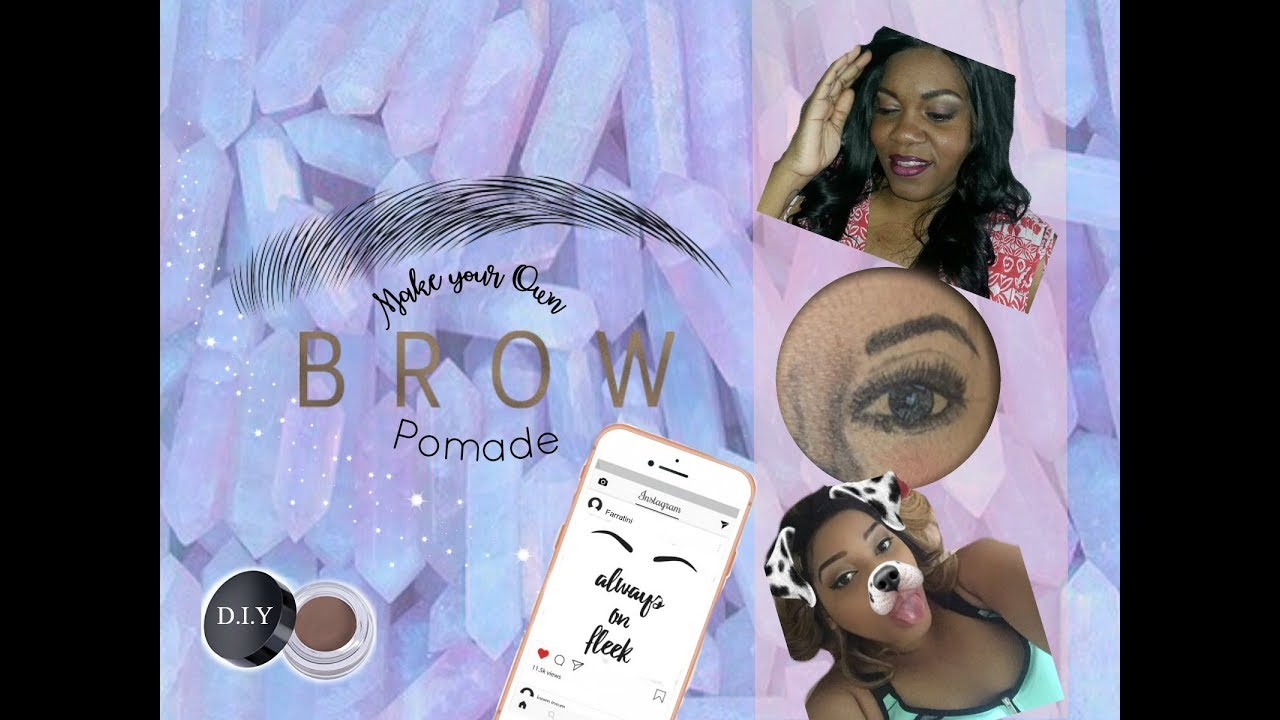 Diy Eyebrow Pomade Youtube Spider